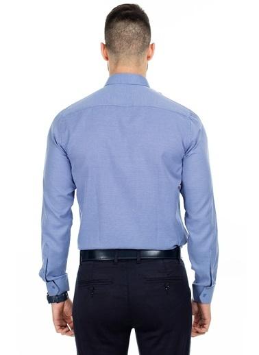 Sabri Özel Gömlek İndigo